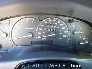 2002 Ford Ranger Pickup Truck