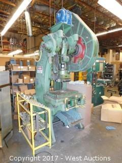 E.W. Bliss 21-S 45 Ton Punch Press with (20+) Dies
