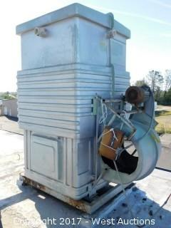 AEC Roof Mounted Water Cooling System Without a Fan