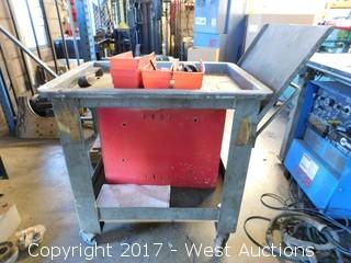 Push Steel Cart with Box