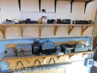 Bulk Lot of Breaker Boxes, Swtiches and More on Shelves