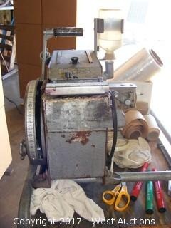Counterboy Labeler 125 with Cart