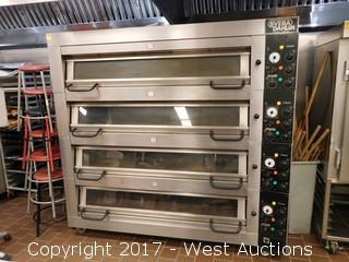 Sveba Dahlen Classic 4 Deck Oven