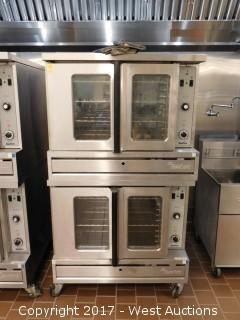 Garland SunFire Double Decker Gas Oven