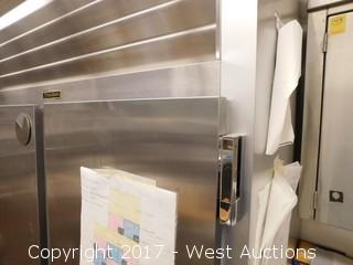 Traulsen Two Section Solid Door Reach-In Refrigerator