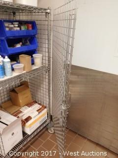 5' Portable Metro Cage with Contents