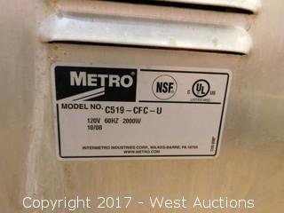 Metro C5 1 Series Portable Heated Rack Cabinet