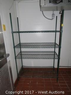 Stainless Steel Rolling Shelf 4'x2'