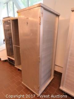 (1) 6' Win-Holt EC1840-CTL Portable Tray Locker