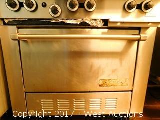 """Garland 6-Burner 36"""" Range with Oven"""