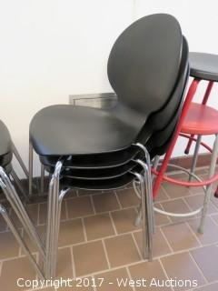(11) Plastic Chairs