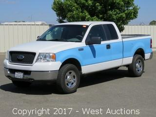 2005 Ford F-150 4x4 Extended Cab Pickup Truck