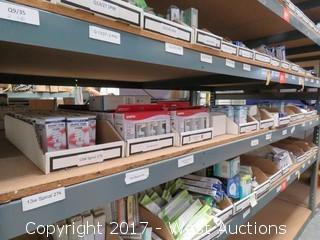 Bulk Lot; (11) Boxes of Commercial Lightbulbs