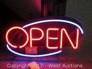 LED Electric Open Sign