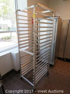 Win-Holt Heavy Duty Aluminum Pan Rack 5'