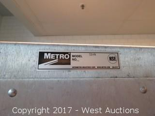 Metro CD4N Enclosed Transport Cabinet with Contents
