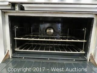 US Range 10-Burner Gas Range with 2 Ovens