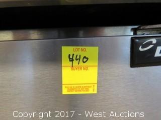 Delfield Undercounter Stainless Steel Refrigerator