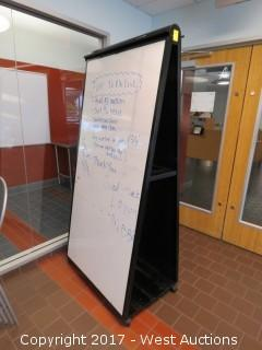 Double Sided Portable Whiteboard