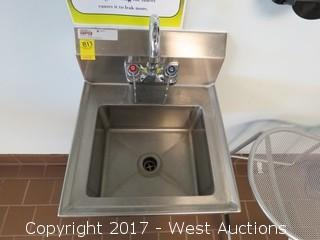 SPG Stainless Wash Sink with Faucet
