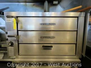 Bakers Pride Two Tier Gas Pizza Oven