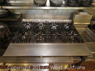 Wolf 8 Burner Gas Stove