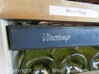 Vinotemp 6' Wine Cooler (Wine Not Included)