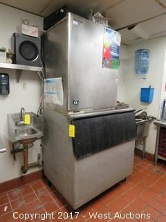 Hoshizaki Commercial Ice Machine with Bin