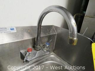 """Allstrong 12"""" Hand Wash Sink"""