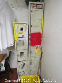 (2) Employee Locker Cabinets