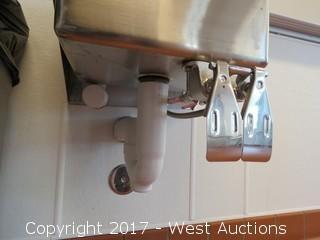 SPG Knee Operated Wash Sink