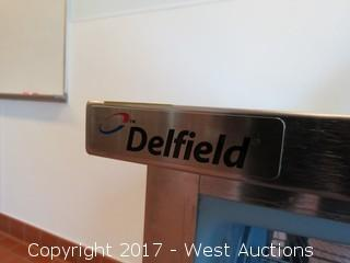 Delfied Undercounter Stainless Steel Refrigerator