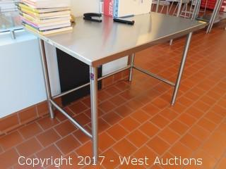 Stainless Steel Table 4'x2.5'