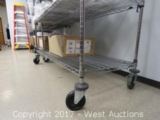5'x2'x6.5' Tall Portable Metro Rack