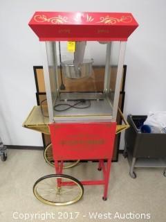 Great Northern Popcorn Popper Machine Cart