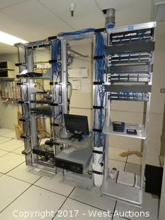 CPI Rack with Server Network and Switches