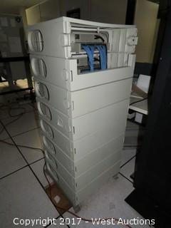 IBM Server Rack System with (8) IBM 9034 Server Units