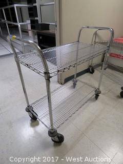 Metro Utility Cart with Two Shelves