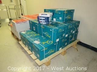 (16) Boxes Of Premium Copier Paper on Pallet