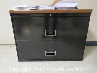 Steel 2-Drawer Lateral File Cabinet