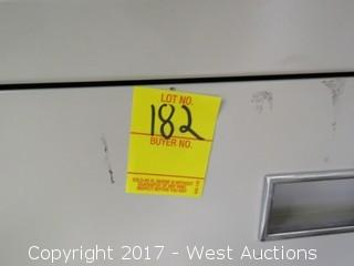 Russ Bassett Media Storage Cabinet