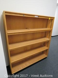 (2) Wooden Shelves