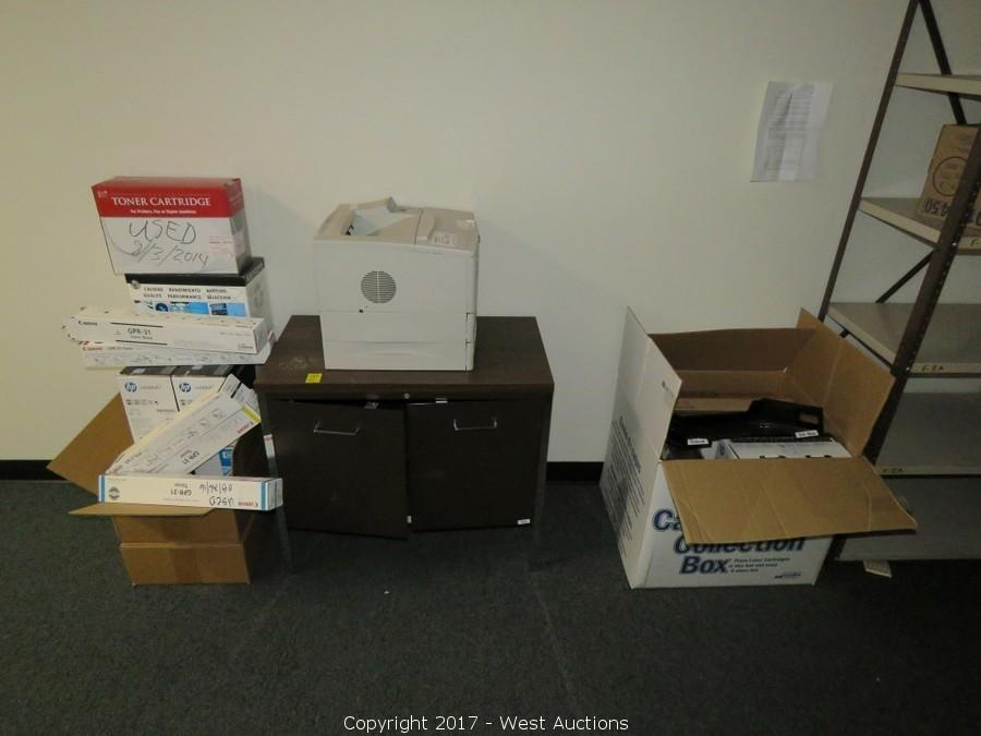 Complete Sellout of Industrial Computer Center Office and Supplies