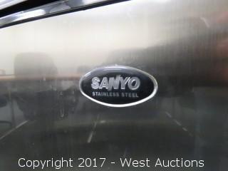 Sanyo Stainless Steel Mini Fridge
