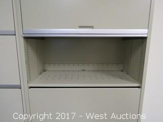 Steel Cabinet 5.5'X3'