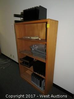 Wood Bookcase 5' x 2.5'