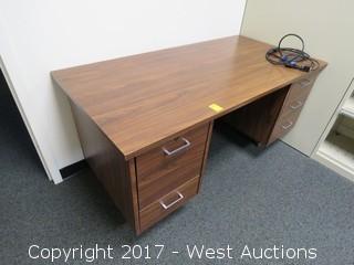 Wooden Desk 5'X2.5'