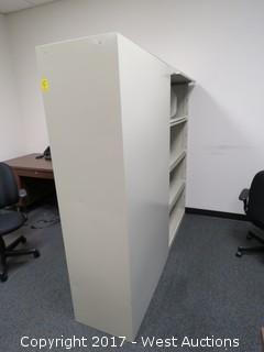 (2) Steel Cabinets 6'X2.5'