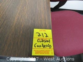 (2) Desks, (2) Chairs, Computer Monitor
