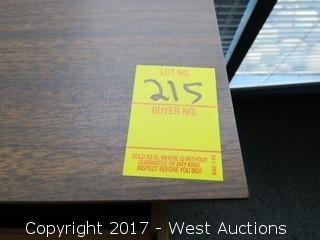 2-Drawer Wood Filing Cabinet